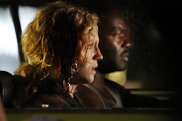 "Brittany Snow and David Oyelowo in ""96 Minutes."""