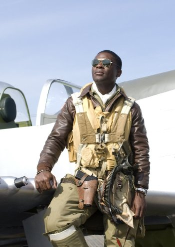 "David Oyelowo in ""Red Tails."""