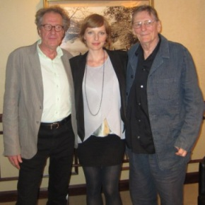 Geoffrey Rush, Fred Schepisi & Alexandra Schepisi – Heading Into the Eye of the Storm