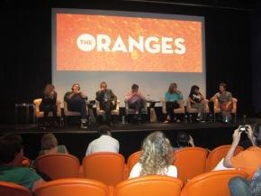 Hugh Laurie, Allison Janney, Oliver Platt, Catherine Keener, Alia Shawkat, Adam Brody & Julian Farino Live Life in TheOranges