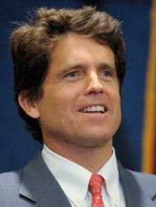 "Mark Shriver, author of  ""A Good Man: Rediscovering My Father, Sargent Shriver."""