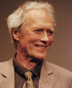 "Clint Eastwood at the 2008 New York press day for ""The Changeling."""