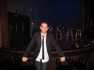 "Matt Sax at the ""Venice"" preview concert at Joe's Pub in New York, May 11, 2013."