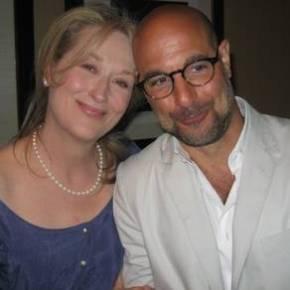 Bon Appetit with Oscar-nominees Meryl Streep & StanleyTucci
