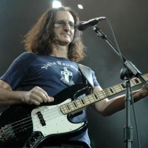 Geddy Lee of Rush Making Music