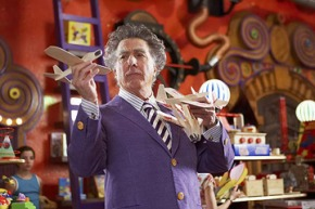 Dustin Hoffman Makes a Magical Turn