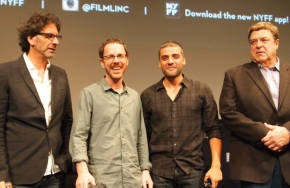 The Coen Brothers, Oscar Isaac and John Goodman Step Out With Inside Llewyn Davis at NYFF 2013