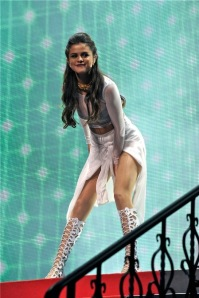 Selena Gomez performing at Wells Fargo Center in Philadelphia October18, 2013.