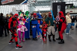 New York Comic-Con 2013 at Jacob Javits Center, Manhattan.  Picture copyright 2013 by Mark Doyle.