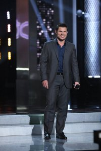 "Nick Lachey hosts ""The Sing-Off."""