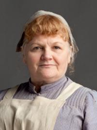 Going Downstairs in Downton Abbey With Lesley Nicol