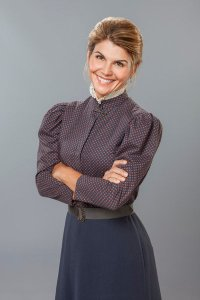 "Lori Loughlin stars in the Hallmark Channel series ""When Calls the Heart."""