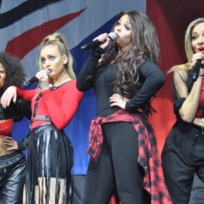 Little Mix Give Us a Snappy Salute