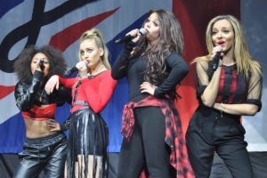 Little Mix at the Susquehanna Bank Center, Camden, NJ, March 1, 2014,  Photo by Julia Shepard.