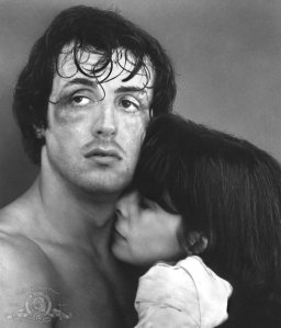 "Sylvester Stallone and Talia Shire star in ""Rocky."""
