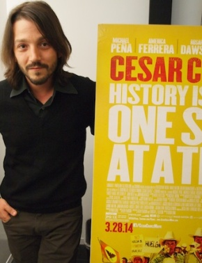 Actor Turned Director Diego Luna Celebrates CesarChavez