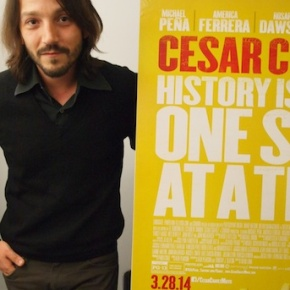 Actor Turned Director Diego Luna Celebrates Cesar Chavez