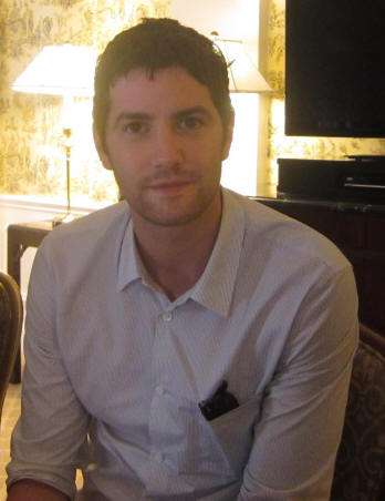 Jim Sturgess at the NY press day for