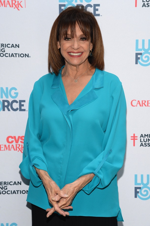 NEW YORK, NY - MAY 13: Valerie Harper attends the American Lung Association's LUNG FORCE national media kickoff event at Houston Hall on May 13, 2014 in New York City. (Photo by Theo Wargo/Getty Images for American Lung Association)