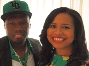 "Curtis ""50 Cent"" Jackson and Courtney Kemp Agboh Have Got the Power"