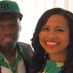 """Curtis """"50 Cent"""" Jackson and Courtney Kemp Agboh Have Got thePower"""