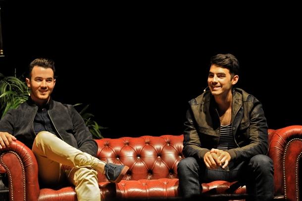 An Evening with Kevin and Joe Jonas – Keswick Theater – Glenside, PA – June 7, 2014 - photo by Jim Rinaldi © 2014