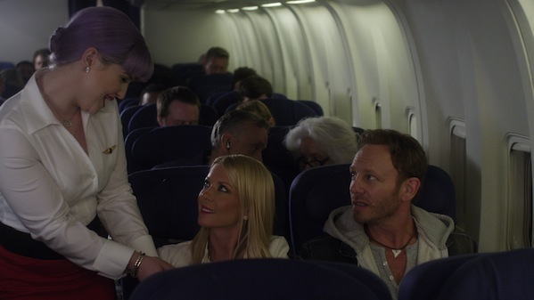 "Ian Ziering and Tara Reid star in ""Sharknado 2: The Second One."""