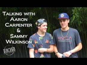 Talking Music with Sam Wilkinson & Aaron Carpenter