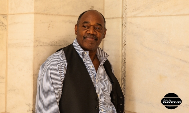 Gregg Daniel at the New York City Public Library.  Photo © 2014 Mark Doyle. All rights reserved.