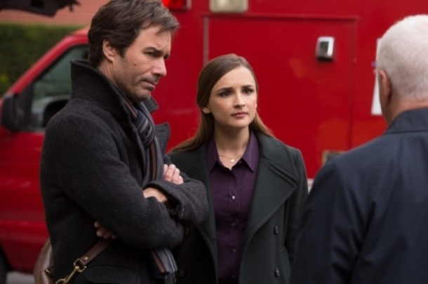 "Eric McCormack anbd Rachael Leigh Cook  star in ""Perception."""