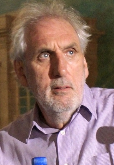 """Director Phillip Noyce at the New York press conference for """"The Giver.""""  Photo copyright 2014 Brad Balfour."""