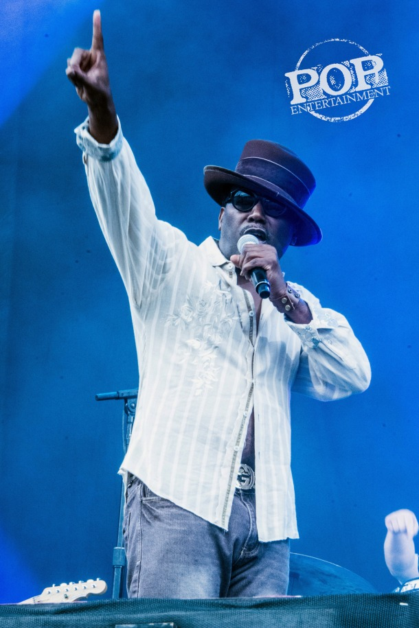 Big Daddy Kane at Budweiser's Made in America Fest in Philadelphia, August 30, 2014.