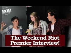 Exclusive Weekend Riot FirstInterview