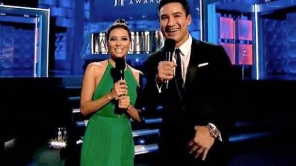 Eva Longoria and Mario Lopez host the ALMA Awards.