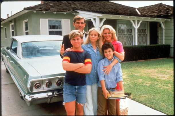 The Arnold family from the first season of