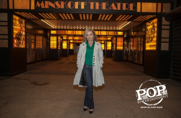 Jill Whelan in the theater district, New York City.  Photo copyright 2015 Mark Doyle.
