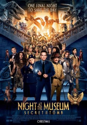 Night at the Museum – Secret of the Tomb (A PopEntertainment.com MovieReview)