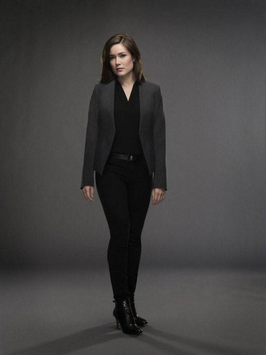 "Megan Boone plays Elizabeth Keen on the hit NBC series ""The Blacklist."""