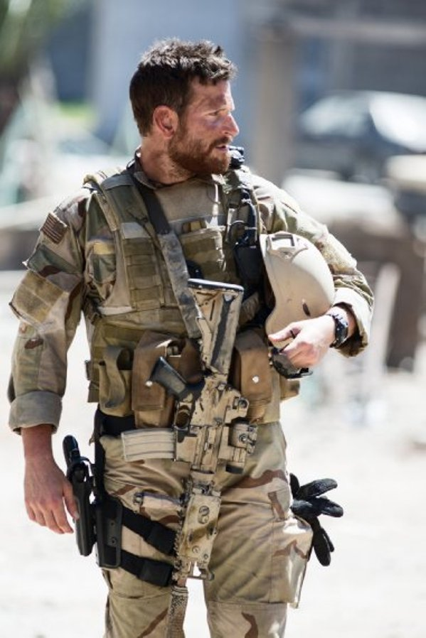"""Bradley Cooper stars in """"American Sniper."""""""