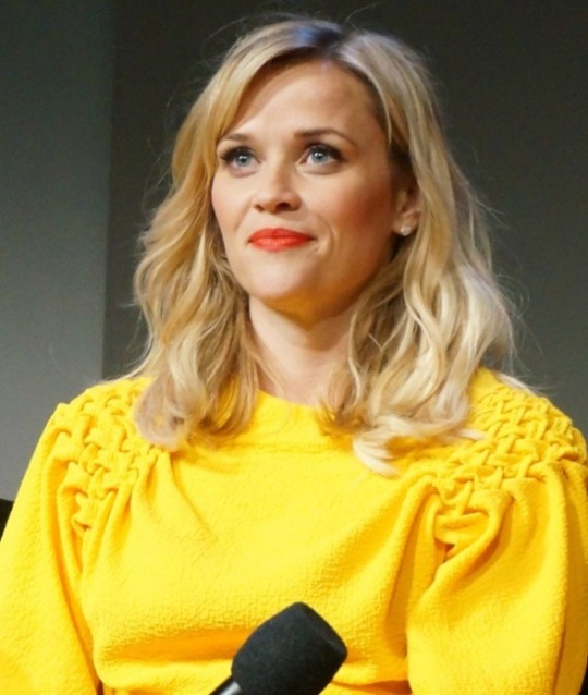 "Reese Witherspoon at the ""Wild"" promotion at Apple Store, SoHo, New York.  Photo copyright 2014 Brad Balfour."