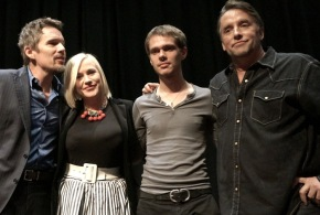 Ethan Hawke, Patricia Arquette, Ellar Coltrane & Richard Linklater – Boyhood Is About Growing Up