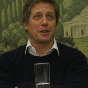 Hugh Grant, Chris Elliot & Marc Lawrence Work Out The Rewrite