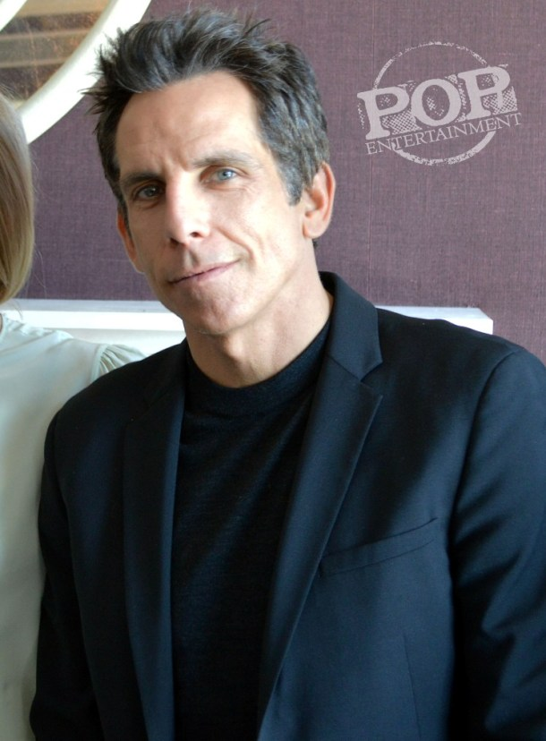 """Ben Stiller at the NY Press Day for """"While We're Young."""""""