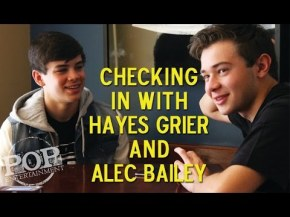 Meet Hayes Grier and Alec Bailey!