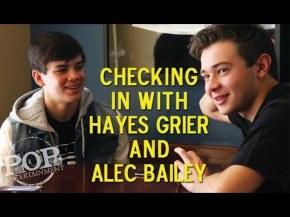 Meet Hayes Grier and AlecBailey!