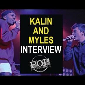 Kalin & Myles Talk Dedication Tour and UpcomingGoals
