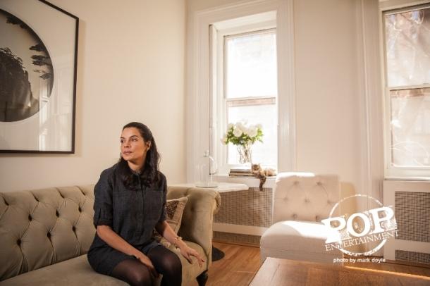Zuleikha Robinson in Brooklyn, NY.  Photo copyright 2015 Mark Doyle/PopEntertainment.com.