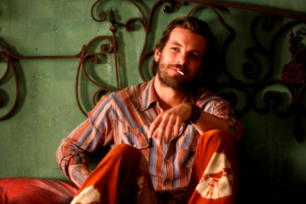 """AQUARIUS -- """"Never Say Never to Always"""" Episode 103 -- Pictured: Gethin Anthony  as Charles Manson -- Photo by: (Vivian Zink/NBC)"""