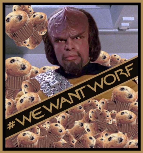 We Want Worf mini-muffins