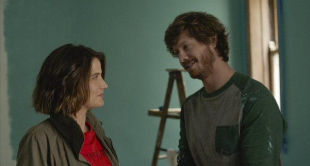 "Cobie Smulders and Anders Holm star in ""Unexpected."""